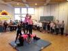 Akrobatik-Aufführung der Klassen 4b und 4c am 19.12.17
